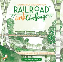 Railroad Ink Challenge: Lush Green Edition Cover Artwork