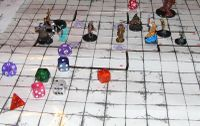 RPG Mechanic: Grid-based (uses square terrain for move/combat)