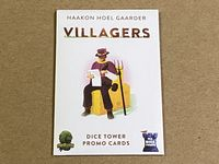 Board Game: Villagers: Dice Tower Promo Cards