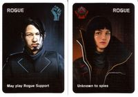Board Game: The Resistance: Rogue Agent and Sergeant Modules