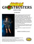 RPG Item: Savage Ghostbusters GM Guide
