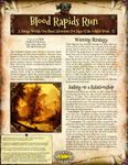 RPG Item: Blood Rapids Run