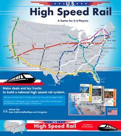 US High Speed Rail Board Game BoardGameGeek