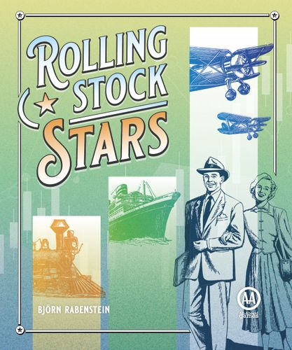 Board Game: Rolling Stock Stars