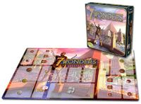 Board Game Accessory: 7 Wonders: Playmat