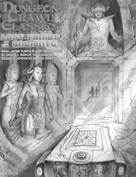 Cover of Dungeon Crawl Classics #84A: The Tomb of the Organon Magisteros