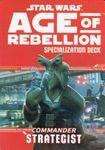 RPG Item: Age of Rebellion Specialization Deck: Commander Strategist