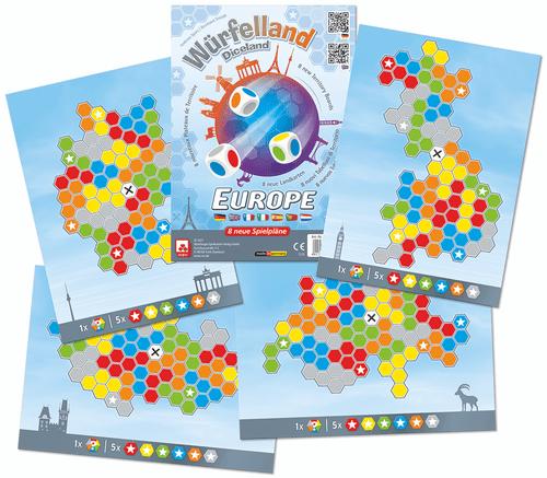 Board Game: Würfelland: Europe