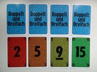 Board Game: Doppelt und Dreifach