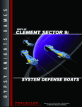 RPG Item: Ships of Clement Sector 09: System Defense Boats