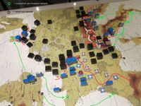 Our First WestFront2 game. Situation June -44.