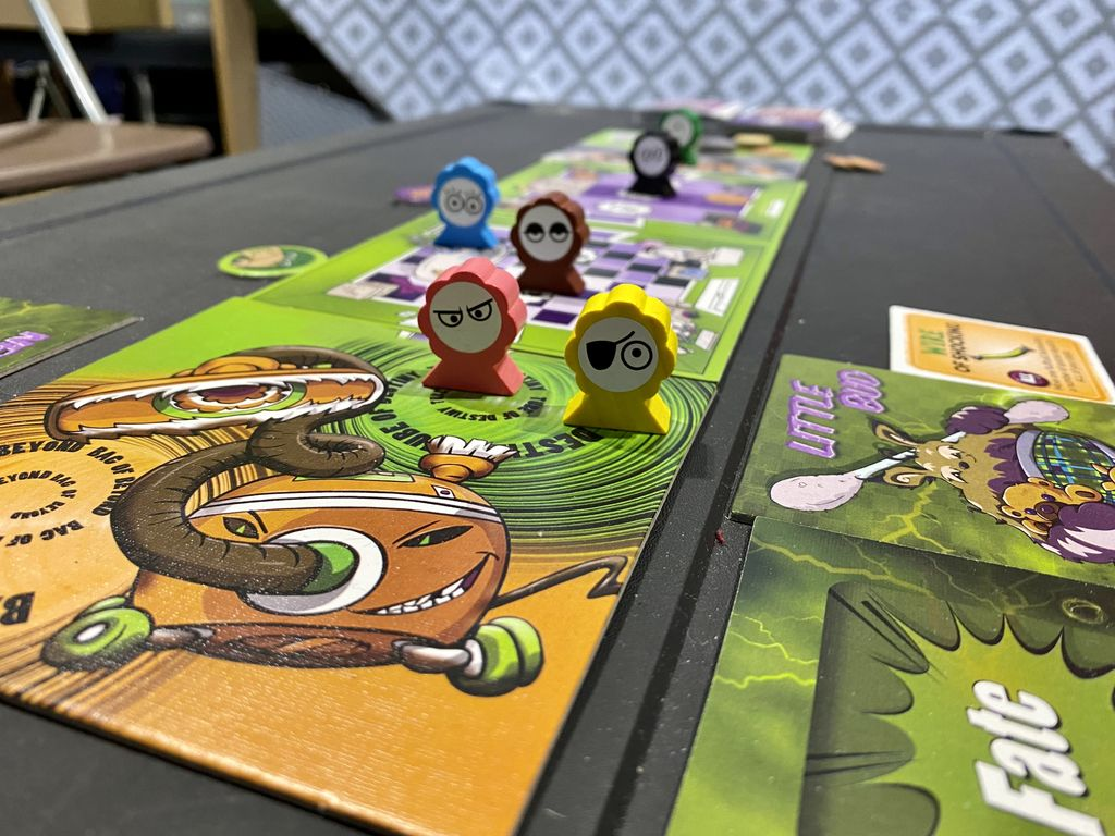 Board Game: Daring Dustbunnies