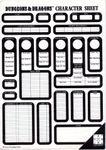 RPG Item: Dungeons & Dragons Character Sheet (pad)