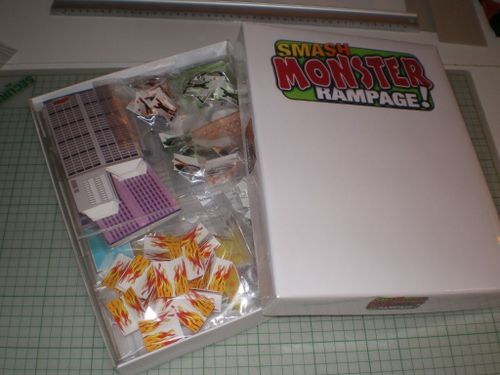 Board Game: Smash Monster Rampage!