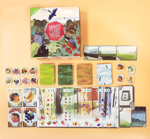 Board Game: Harvest Island
