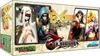 Board Game: Exceed: Red Horizon – Kaden, Eva, Miska, and Lily