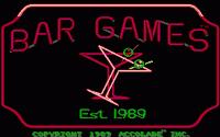 Video Game: Bar Games