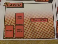 Board Game Accessory: Sentinels of the Multiverse: Playmat