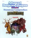 RPG Item: MC11: Monstrous Compendium, Forgotten Realms Appendix