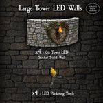 RPG Item: Large Tower LED Walls Pack