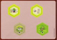 Board Game: The Castles of Burgundy: 2nd Expansion – New Hex Tiles
