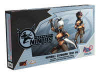Board Game: Kaosball: Team – Shadowvale Ninjas