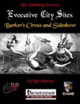 RPG Item: Evocative City Sites: Barker's Circus and Sideshow