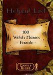 RPG Item: 100 Welsh Names - Female
