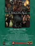 RPG Item: The Dalish Curse