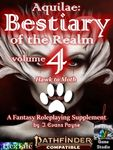 RPG Item: Aquilae: Bestiary of the Realm: Volume 4 (PF2)