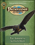 RPG Item: Pathfinder Society Scenario 3-10: The Immortal Conundrum