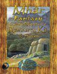 RPG Item: Mhâr Fantasy RPG Game Master's Resource Kit and Screen