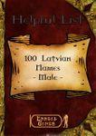 RPG Item: 100 Latvian Names - Male