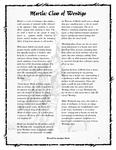 RPG Item: Mortla: Claw of Wendigo