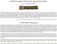 RPG Item: A (More) Complete Guide to the Aligned Outer Planes