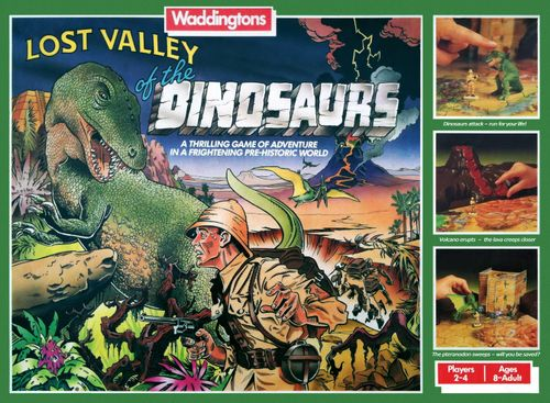 Board Game: Lost Valley of the Dinosaurs