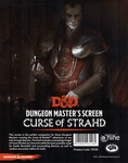RPG Item: Dungeon Master's Screen: Curse of Strahd