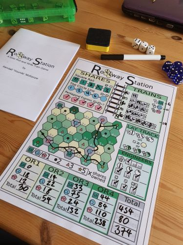Board Game: Rollway Station