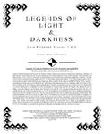 RPG Item: Legends of Light & Darkness
