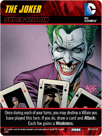 Dc Comics Deck Building Game Forever Evil The Joker