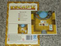 Board Game: Escape: The Curse of the Temple – Queenie 14: Wishing Well