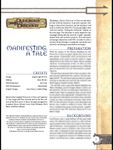RPG Item: Manifesting: A Tale