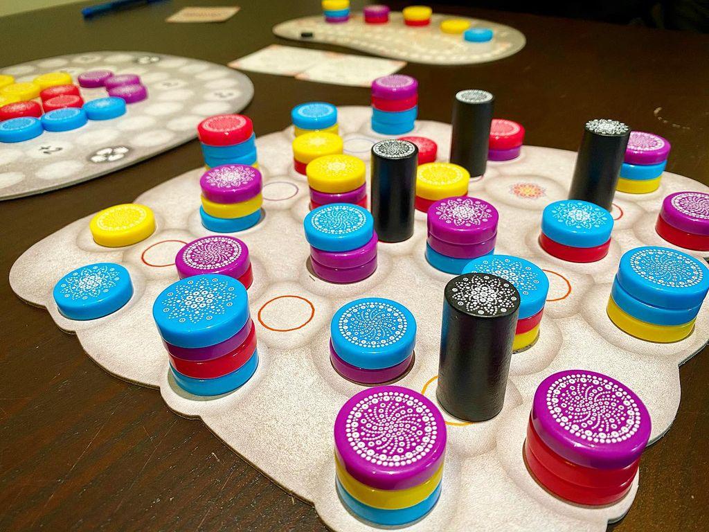 Board Game: Mandala Stones