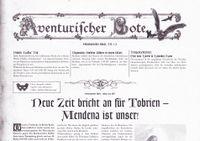 Issue: Aventurischer Bote (Issue 174 - Nov/Dec 2015)