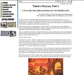 RPG Item: Talnar's Rescue, Part 2