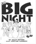 RPG Item: The Big Night