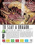 RPG Item: #00: To Slay a Dragon