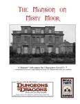 RPG Item: The Mansion on Misty Moor