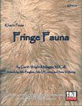 RPG Item: Fringe Fauna