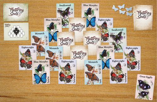 Fluttering Souls - full game set up